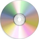 Dvd vuoto Fotografia Stock Libera da Diritti