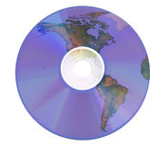dvd world Stock Photography