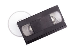 DVD your tape. Photo of DVD your tape Royalty Free Stock Image