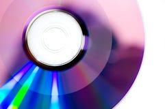 DVDR brûlé Images libres de droits