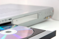 dvdregistreringsapparat Arkivfoton
