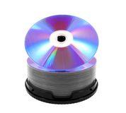 DVDs Royalty Free Stock Image