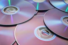 DVDs Foto de archivo libre de regalías