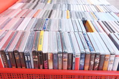 DVDs Foto de Stock Royalty Free