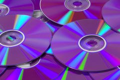 DVDs Immagine Stock