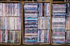 DVDs Fotografía de archivo libre de regalías