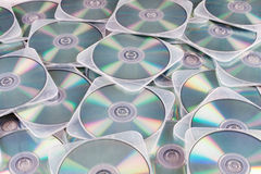 DVDs In Cases Stock Photo