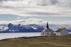 Dverberg Kirke Stockfotografie