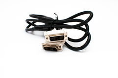 DVI缆绳 库存照片