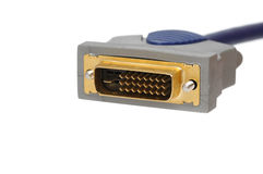 Dvi cable Stock Photo