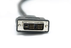 Dvi cable Royalty Free Stock Photo