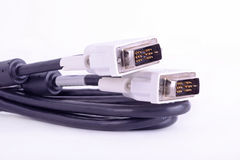 Dvi cable Stock Photography