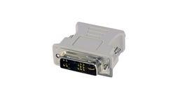 DVI VGA Adaptator obrazy stock