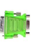 DVI VGA-Verbinder Lizenzfreies Stockfoto