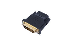 DVI zu HDMI Lizenzfreies Stockbild
