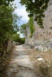 Dvigrad, cidade medieval em Istria central, Croácia Imagem de Stock