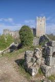 Dvigrad dans Istria photos libres de droits