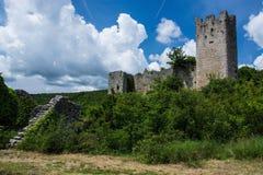 Dvigrad, Istria, Croácia foto de stock