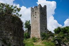 Dvigrad, Istria, Croácia foto de stock royalty free