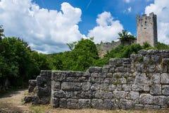 Dvigrad, Istria, Croácia imagem de stock royalty free