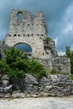 Dvigrad, Istria, Croatia. Dvigrad is an abandoned medieval town in central Istria, Croatia royalty free stock images