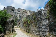 Dvigrad, Istria, Croatia. Dvigrad is an abandoned medieval town in central Istria, Croatia royalty free stock photo