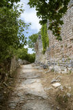 Dvigrad, medieval town in central Istria, Croatia. Stock Image