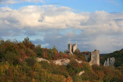 Dvigrad ruins Stock Image