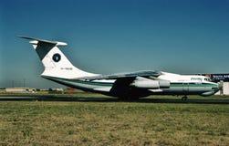 Dvin powietrze Ilyushin IL-7dTD EK-76446 Zdjęcie Stock