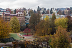 Dvorak Park, Karlovy Vary Stock Photos