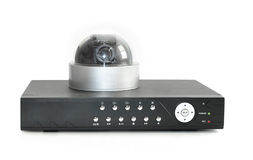 DVR记录器 免版税库存图片