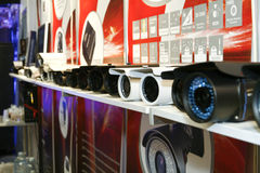 DVR, câmeras, sistemas de vigilância video (2) Fotografia de Stock Royalty Free