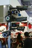 DVR, Camera's, videotoezichtsystemen Stock Afbeelding