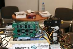 DVR, Cameras, video surveillance systems Royalty Free Stock Photos