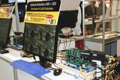 DVR, Cameras, video surveillance systems Stock Image