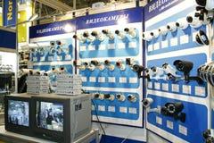 DVR, macchine fotografiche, video sistemi di sorveglianza Fotografia Stock Libera da Diritti