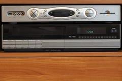 DVR neuf avec le vieux magnétoscope Photographie stock libre de droits