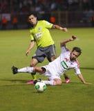 DVSC vs. Gyor Hungarian Cup Final football match Royalty Free Stock Images