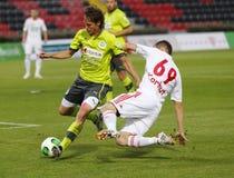 DVSC vs. Gyor Hungarian Cup Final football match Stock Photo