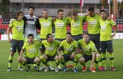 DVSC vs. Gyor Hungarian Cup Final football match Royalty Free Stock Photos