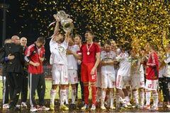 DVSC vs. Gyor Hungarian Cup Final football match Royalty Free Stock Photography
