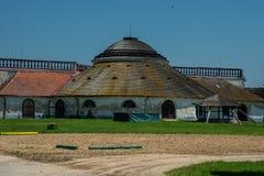 Dvur de Novy, ingl?s Nueva granja, cerca de Lednice foto de archivo libre de regalías