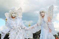 dwóch aniołów Zdjęcie Royalty Free