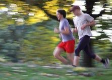 dwóch biegaczy Obraz Stock
