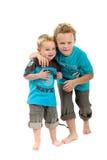 dwóch chłopców Fotografia Royalty Free