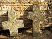 dwóch krzyży Zdjęcia Royalty Free