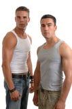 dwóch mężczyzn Zdjęcia Royalty Free