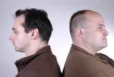 dwóch mężczyzn iii Zdjęcia Stock