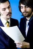dwóch przedsiębiorców Zdjęcie Stock