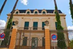 dwór Seville Zdjęcie Stock